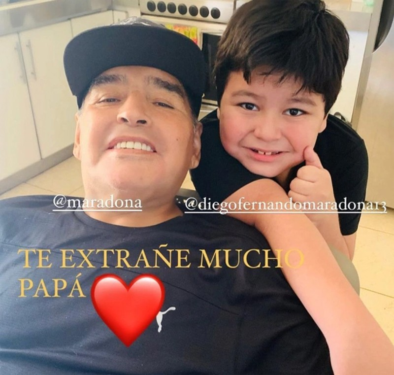 His youngest child, Diego Fernando, is just seven, and was born in 2013. Maradona had been dating his mother, Veronica Ojeda, before dumping her when she was four months pregnant for Rocio Oliva, 30 years his junior.In the wake of that reunion, more women came forward with paternity claims against Maradona. In March 2019, he accepted paternity of three Cuban children, reportedly from two mothers, although their identities remain a secret. Maradona had spent many months in Havana between 2000 and 2005 while undergoing treatment for a cocaine habit, even befriending then-President Fidel Castro during his time in the country. Maradona later got a tattoo of Castros face on his leg. At least three other women have come forward claiming Maradona to be the father of their children, but he did not publicly confirm they were his before his death.