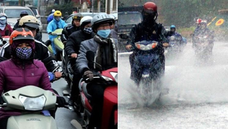 Không khí lạnh tăng cường mạnh, Hà Nội khô rét, miền Trung mưa lớn vài ngày