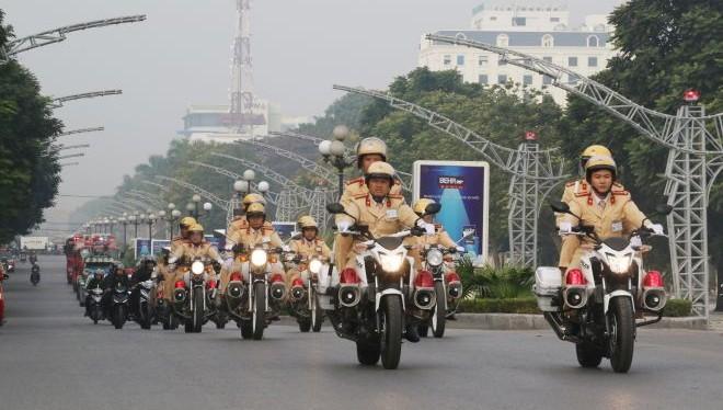 Cảnh sát sắp vào cao điểm tuần tra, kiểm soát trật tự giao thông