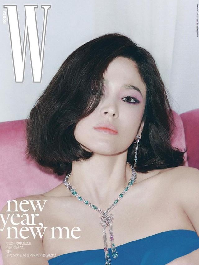 Song Hye Kyo xinh đẹp đón năm mới, tiết lộ người ảnh hưởng nhất - 2