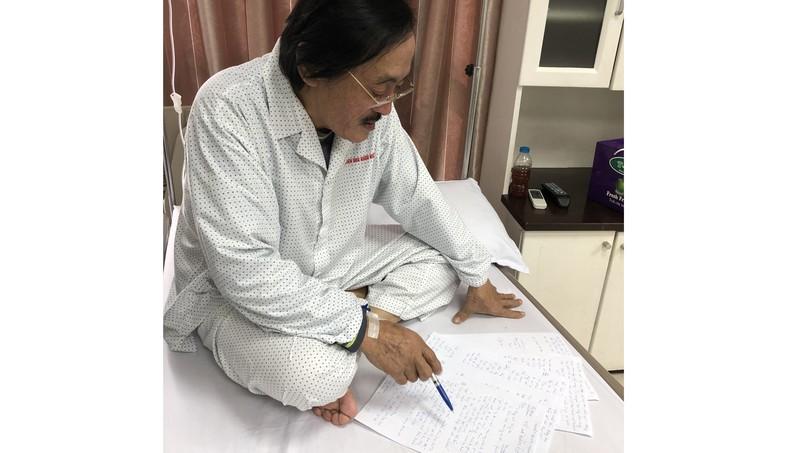 Nghệ sĩ Giang còi bị ung thư