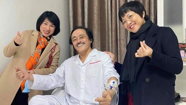 Nghệ sĩ Giang còi nói về lý do ung thư di căn nhưng gặp ai cũng cười