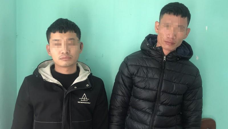 Hai đối Lê Văn Hùng và Lê Văn Úc. Ảnh: Công an tỉnh Quảng Ninh.
