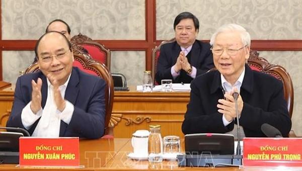 Tổng Bí thư, Chủ tịch nước: Bắt tay ngay vào công việc, không được quá say sưa với Tết