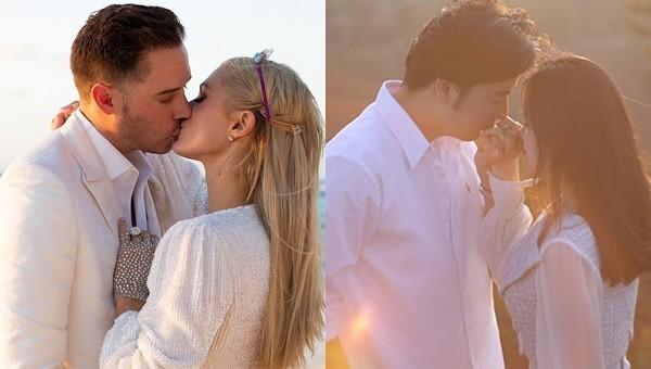 Paris Hilton đính hôn, Đoàn Minh Tài 'khoe' bạn gái mới