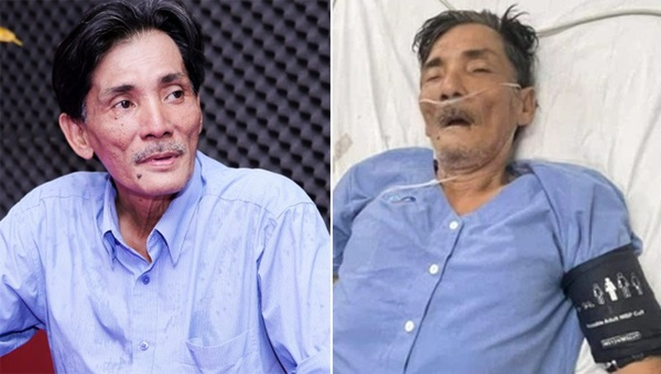 Diễn viên Thương Tín nhập viện vì đột quỵ