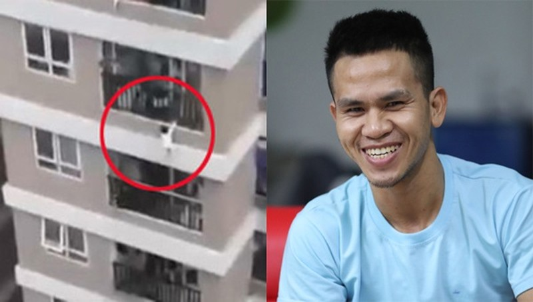 Bí thư Hà Nội gửi thư khen nam thanh niên cứu bé gái rơi từ tầng 12A chung cư