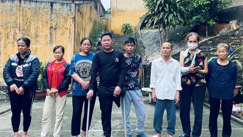 Các đối tượng bị tạm giữ. Ảnh: Công an tỉnh Lạng Sơn.