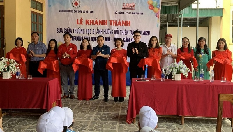 Hỗ trợ sửa chữa 22 trường học bị ảnh hưởng bởi thiên tai ở miền Trung