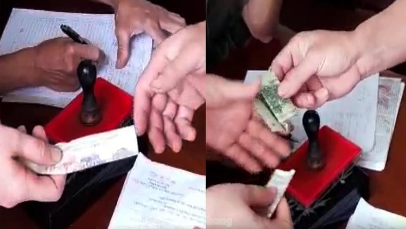 Tạm đình chỉ 2 công an viên thu 100.000 đồng làn căn cước gắn chip