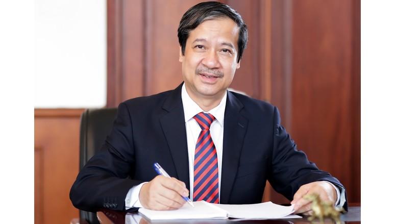 Tân Bộ trưởng Nguyễn Kim Sơn gửi thư tới nhà giáo cả nước