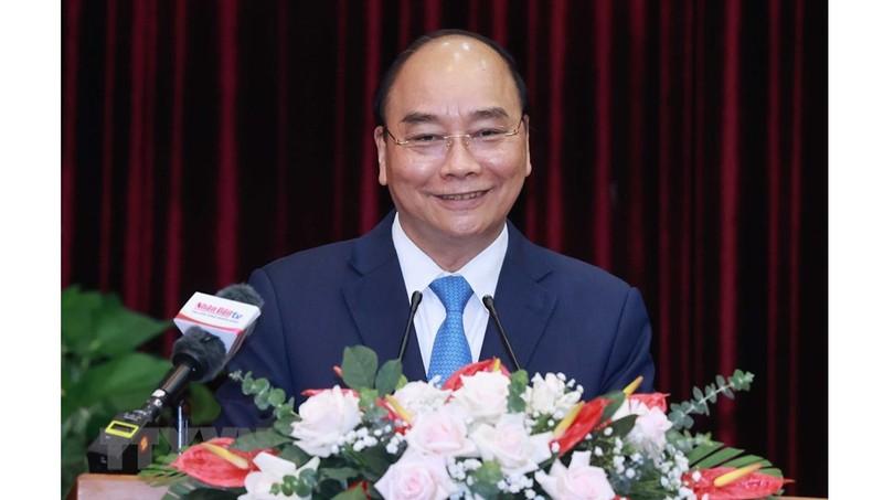 Chủ tịch nước Nguyễn Xuân Phúc làm việc với thành phố Đà Nẵng và tỉnh Quảng Nam