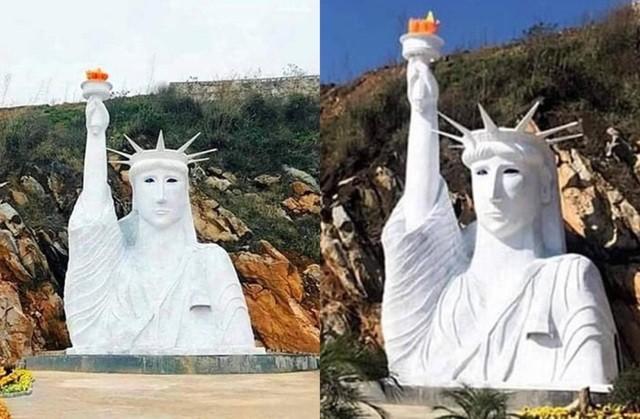Điểm du lịch có tượng nữ thần tự do phiên bản lỗi bị tạm cấm đón khách - 1