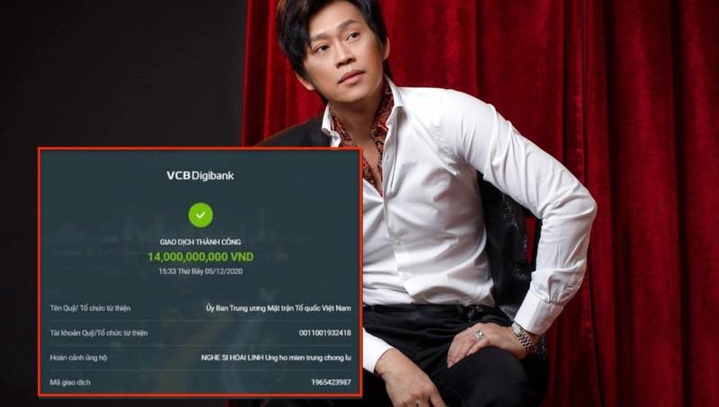 Hoài Linh nêu lý do chưa chuyển hơn 14 tỷ đồng hỗ trợ miền Trung