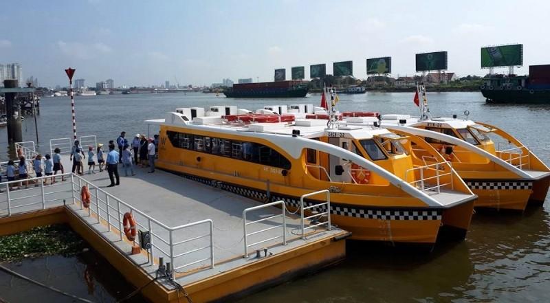 11 bến thủy nội địa được đầu tư phục vụ các tuyến buýt đường thủy (ảnh: internet)