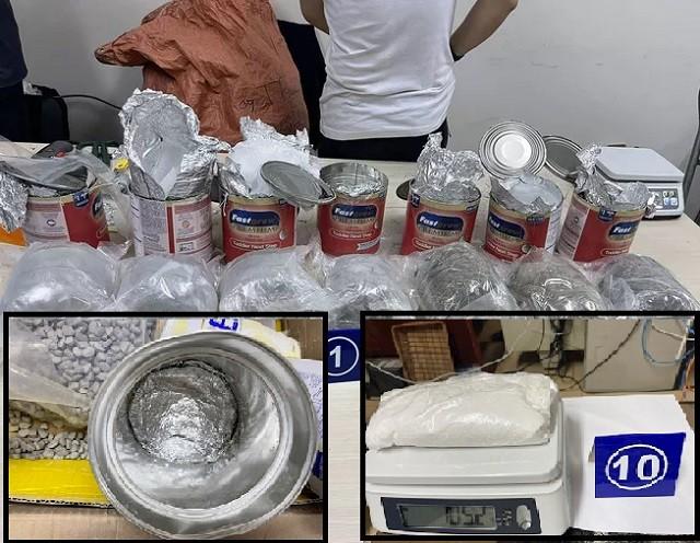 Phát hiện 36kg ma túy ngụy trang dưới đơn hàng mua bán qua mạng