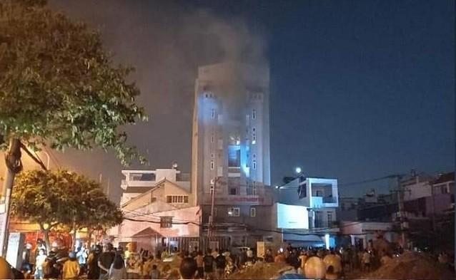 Hai vụ hỏa hoạn xảy ra trong đêm