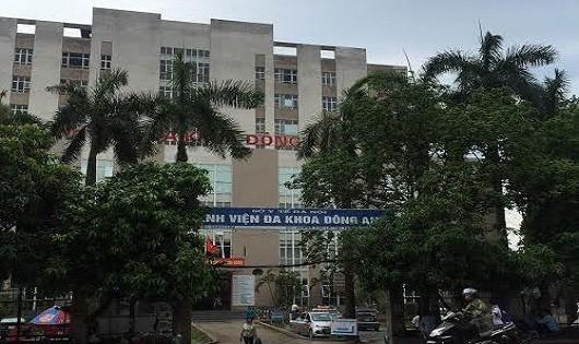 Bệnh viện đa khoa Đông Anh.