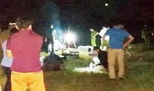 Phát hiện thi thể của nghi phạm sát hại vợ rồi bỏ trốn trên sông Chu