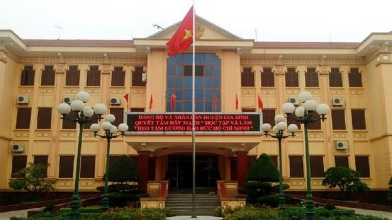 Trụ sở UBND huyện Gia Bình.