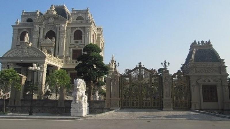 Lâu đài tại TP. Phủ Lý (Hà Nam) của người đại diện theo pháp luật của Tcty Hải Sơn - Tcty 86. (Ảnh: nguồn Internet).