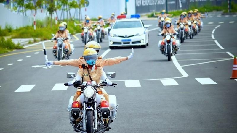 Cục Cảnh sát giao thông (Bộ Công an) bố trí 6 tổ công tác phối hợp bảo đảm trật tự an toàn giao thông phục vụ Tết Nguyên đán Tân Sửu 2021. Ảnh minh hoạ