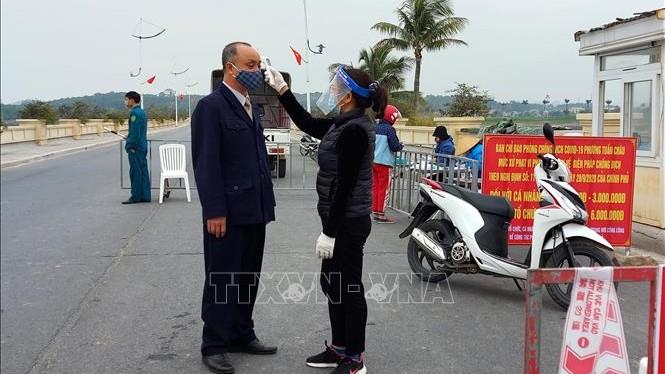 Quảng Ninh: Tạm dừng hoạt động các chốt kiểm soát dịch COVID-19 từ 22/3