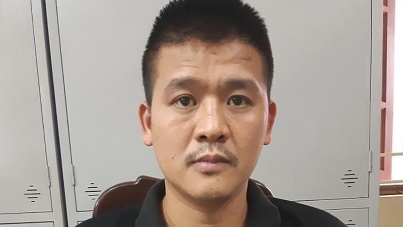 Nguyễn Văn Tùng tại cơ quan điều tra.
