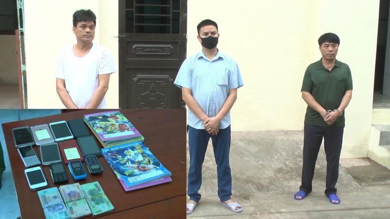 Triệt phá đường dây đánh bạc quy mô lớn ở Thanh Hóa