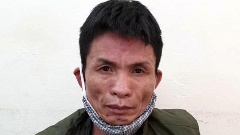 Phạm Văn Huỳnh tại cơ quan Công an