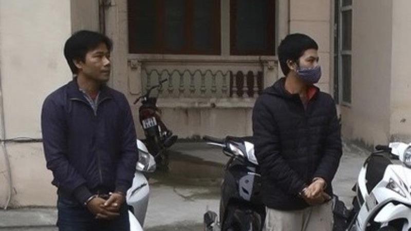 2 đối tượng trộm cắp xe máy liên tỉnh đã 'sa lưới'