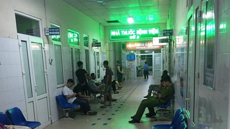 Khoa cấp cứu, Bệnh viện đa khoa tỉnh Hải Dương, nơi vợ chồng anh Thiệp điều trị