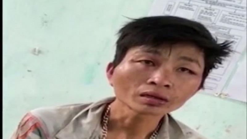 Nguyễn Văn Hải tại cơ quan Công an.