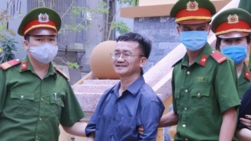 Bị cáo Nguyễn Quang Vinh
