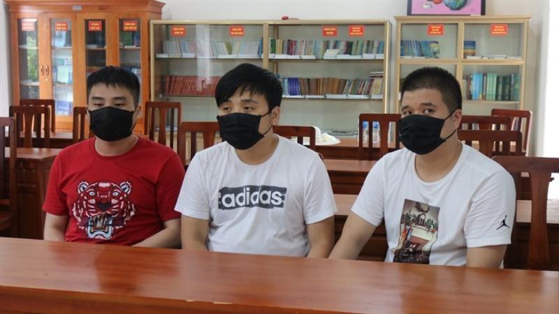 Bắt giữ nhóm người nước ngoài nhập cảnh trái phép vào Việt Nam