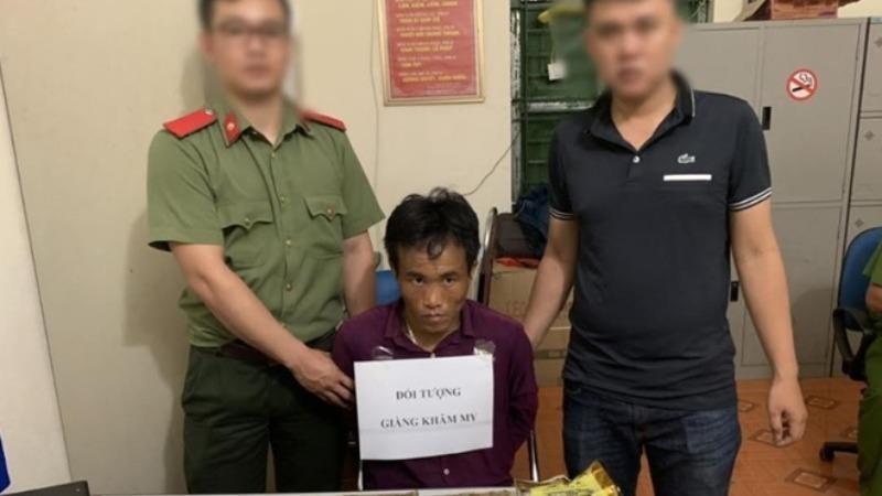 Bắt đối tượng người Lào vận chuyển 4kg ma túy