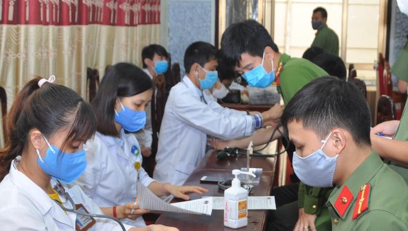 Công an Hải Dương tham gia hiến máu tình nguyện