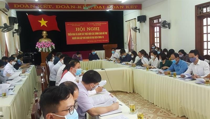 Hải Dương: Dự kiến hơn 180.000 người có công, hộ nghèo... được Chính phủ hỗ trợ tiền