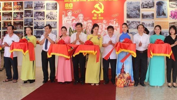 """Khai mạc triển lãm """"Đảng bộ tỉnh Hải Dương - 80 năm xây dựng và phát triển"""""""