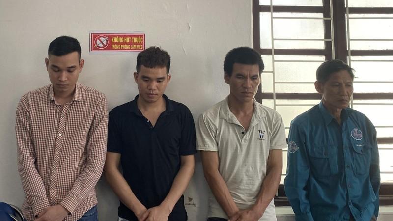 Nhóm đối tượng tài sản bị bắt giữ