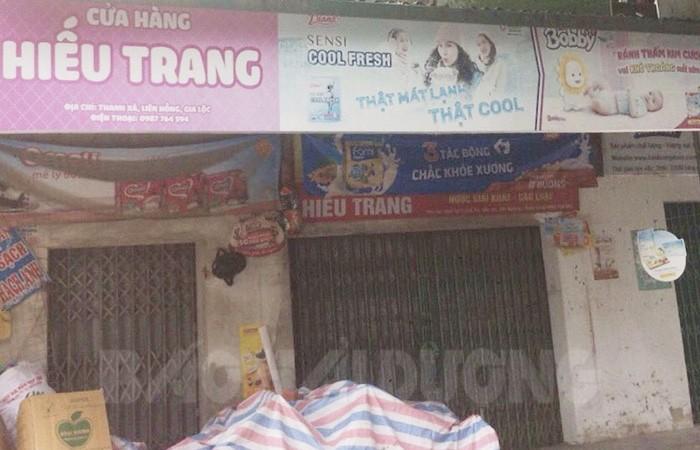 Ổ dịch mới cửa hàng Hiếu Trang ở Hải Dương