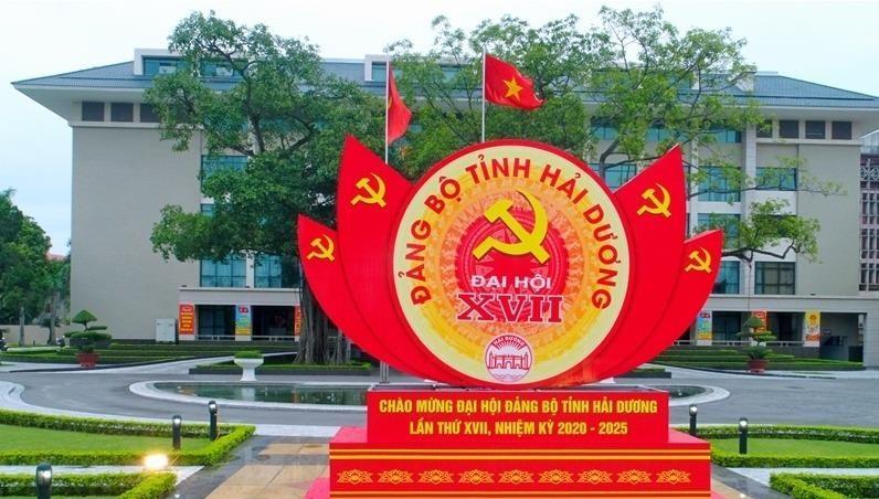 Chào mừng Đại hội Đảng bộ tỉnh Hải Dương lần thứ XVII, nhiệm kỳ 2020 - 2025.