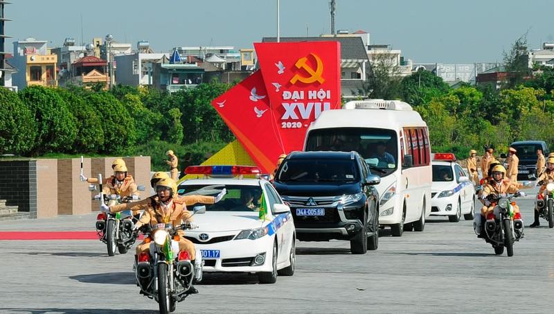Công an Hải Dương đảm bảo an ninh trật tự cho Đại hội Đảng bộ tỉnh