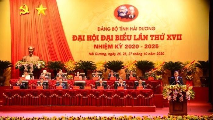 Khai mạc Đại hội đại biểu Đảng bộ tỉnh Hải Dương lần thứ XVII.