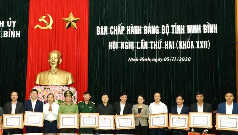 Hội nghị lần thứ hai Ban chấp hành Đảng bộ Ninh Bình.