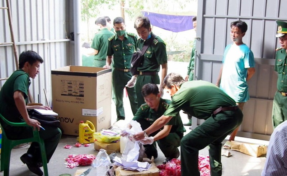 Bộ đội biên phòng tỉnh Bà Rịa - Vũng Tàu triệt phá đường dây làm xăng giả quy mô lớn