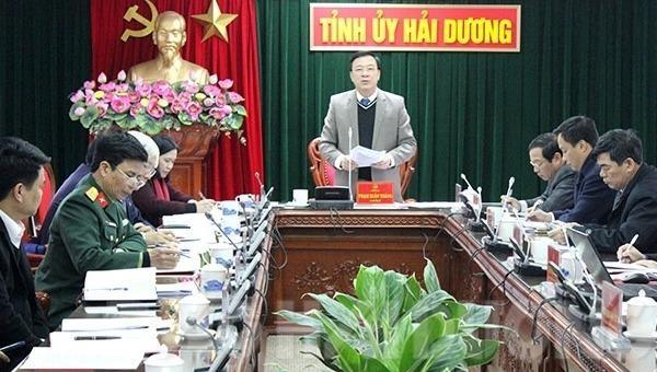 Hải Dương: Thực hiện tốt công tác tuyên truyền Đại hội XIII của Đảng gắn với mừng Đảng, mừng xuân