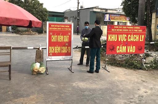 Huyện Kim Thành (Hải Dương) cấp bách phòng, chống dịch Covid -19