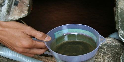 Kho xăng quân đội làm hàng loạt giếng nước có mùi xăng?