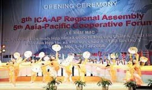 Việt Nam đăng cai tổ chức Hội nghị Bộ trưởng Hợp tác xã